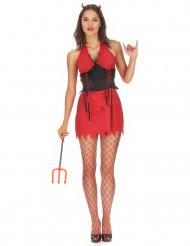 Teufelinnen Kostüm für Damen