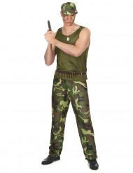 Militär Kostüm für Herren