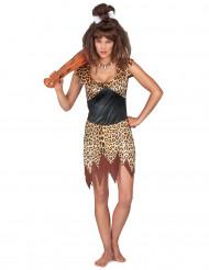 Höhlenmensch Kostüm für Damen