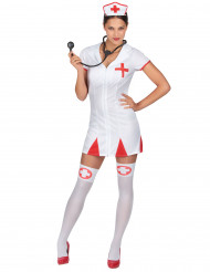 Krankenschwestern-Kostüm für Damen