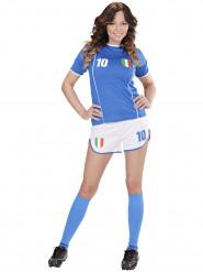Italien Fußball-Kostüm für Damen