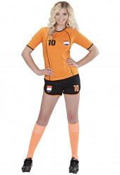 Niederlande Fußball-Kostüm für Damen
