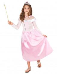 Rosa Prinzessin Kostüm Prinzessin für Mädchen