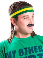 Vokuhila Stirnband gelb grün Mulletonthego™