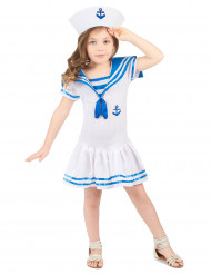 Matrose Kostüm für Mädchen
