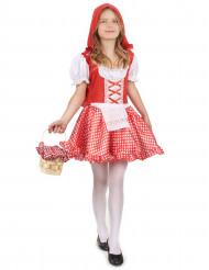 Rotkäppchen Kostüm rosa-rot für Mädchen