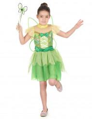 Grünes Fee Kostüm für Mädchen