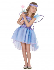 Lila Fee Kostüm für Mädchen