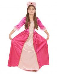 Prinzessinnen-Kinderkostüm für Mädchen rosa-goldfarben
