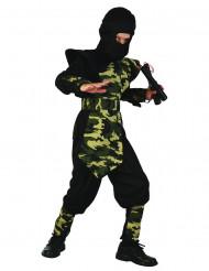 Militär Ninja Kostüm für Jungen