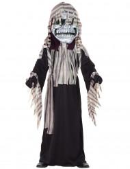 Halloween-Monster-Kostüm für Jungen schwarz-grau