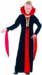 Vampirkostüm rot für Mädchen