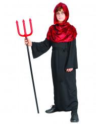 Dämon Kostüm für Jungen Teufel schwarz-rot