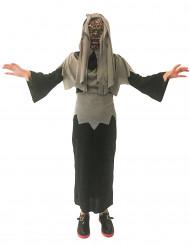 Monster Kostüm für Jungen grau-schwarz