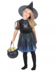 Spinnen-Hexen-Kostüm für Mädchen