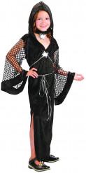 Kostüm schwarze Witwe für Mädchen