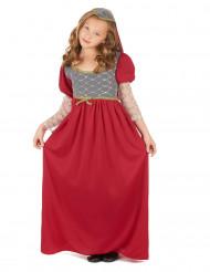 Mittelalter Kostüm für Mädchen