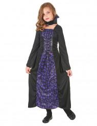 Vampirkostüm lila für Mädchen