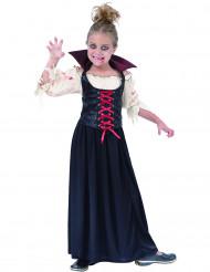 Blutsaugendes Vampirkostüm für Mädchen