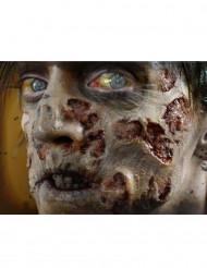 Verweste Zombie-Wunden als Abziehbild mit Wasser Premium