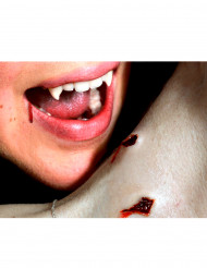 Vampirbiss-Wunde als Abziehbild mit Wasser Premium