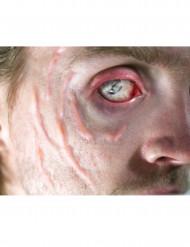 Geschwulst im Gesicht als Abziehbild mit Wasser Premium