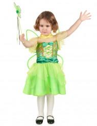 Feenkostüm in grün für Mädchen