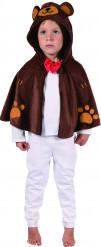 Bär Umhang Kostüm für Kinder