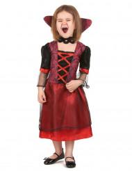 Rotes Vampirkostüm für Mädchen