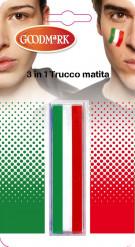 Schminke-Stifte für italienische Fans