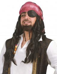 Piratenperücke für Männer