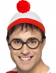 Wo ist Walter™ Mütze mit Brille für Erwachsene