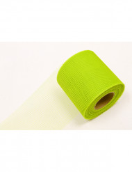 Rolle Tüll-Stoff grün 20 m
