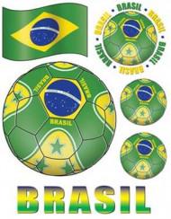 Fenster Aufkleber Brasilien