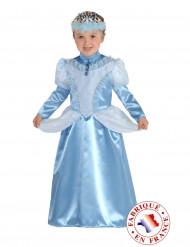 Blaues Marquise Kostüm für Mädchen
