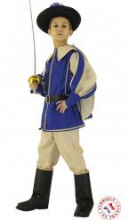 Blaues Prinz Kostüm für Jungen