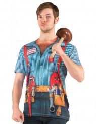 Klempner T-Shirt für Erwachsene