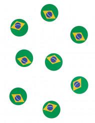 Tisch-Konfetti - Flagge Brasiliens 18g
