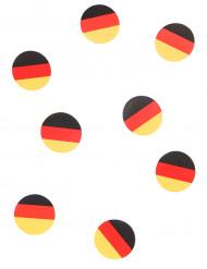 150 Deutschland-Fahnen als Konfetti 18g