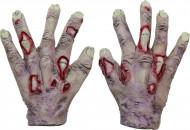 Vampir Zombie Handschuhe für Erwachsene