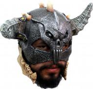 3/4 Maske Krieger für Erwachsene