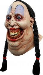 Maske furchterregende Frau
