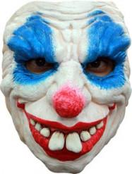 Dämonische Clown Halbmaske für Erwachsene