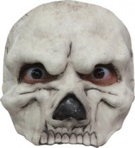 Skelett Halbmaske - Halloween