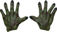 Grüne Monster Handschuhe