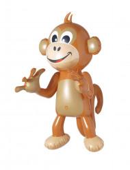 Aufblasbarer Affe Deko 50 cm