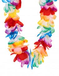 Hochwertige bunte Blumenkette - Hawaii