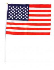 USA Fahne blau-weiss-rot 45x32cm