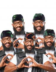 Rasta Jamaika Haartuch