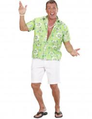 Grünes Hawaii-Hemd für Herren